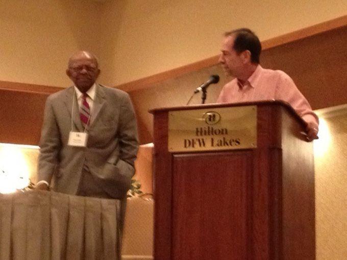 Percy Bates Receives Award