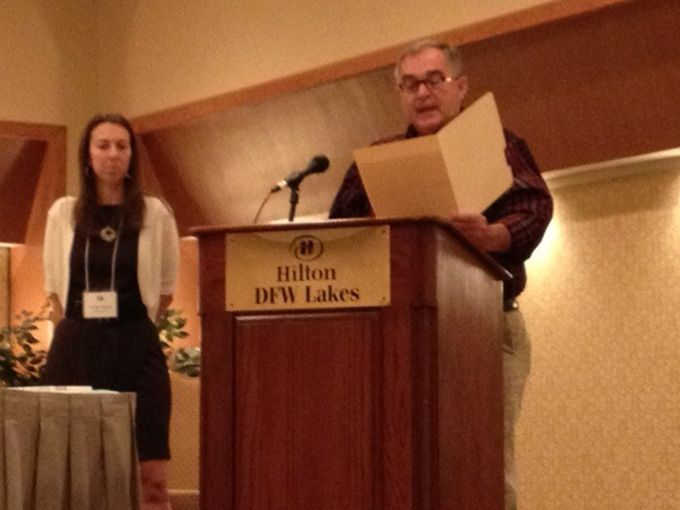 Jenn Strawley Receives Award